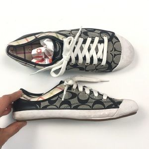 Coach Monogram Zorra Sneaker 7.5M C63